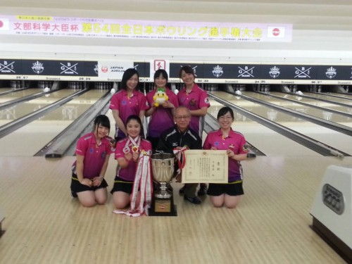2年ぶりに女子総合を制した千葉県チーム