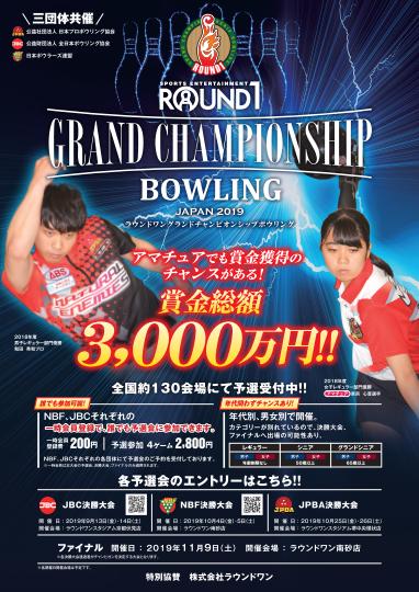 Round1 GRAND CHAMPIONSHIP BOWLING 2019